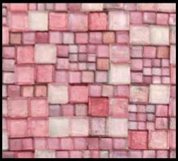 Sicis Structura Uneven Collection Pink 25-4x28-4 cm-