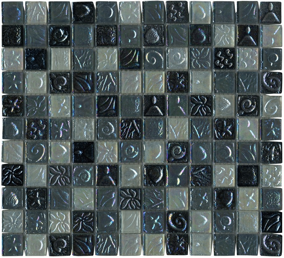 Aparici Talent Mosaik Black 32-70x32-70 cm-